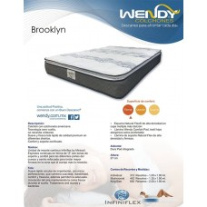 COLCHON WENDY BROOKLYN INDIVIDUAL