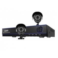 Kit de Seguridad GHIA GDV-007 - DVR Pentahibrido - 1080p