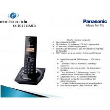 TELEFONO PANASONIC KX-TG1711MEB, NEGR