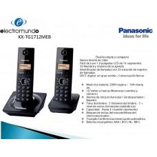 TELEFONO PANASONIC KX-TG1712MEM PAQ 2 AU