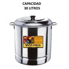 VAPORERA VASCONIA 45Cm ALUMINIO 47 Lts